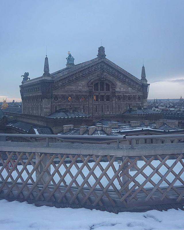 Opera under the snow