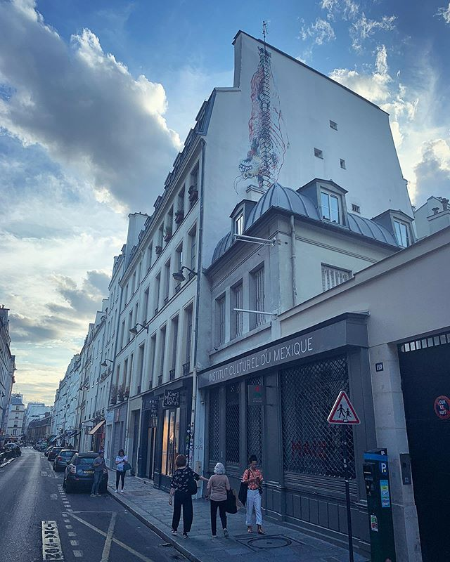 Mexican culture in empty Paris