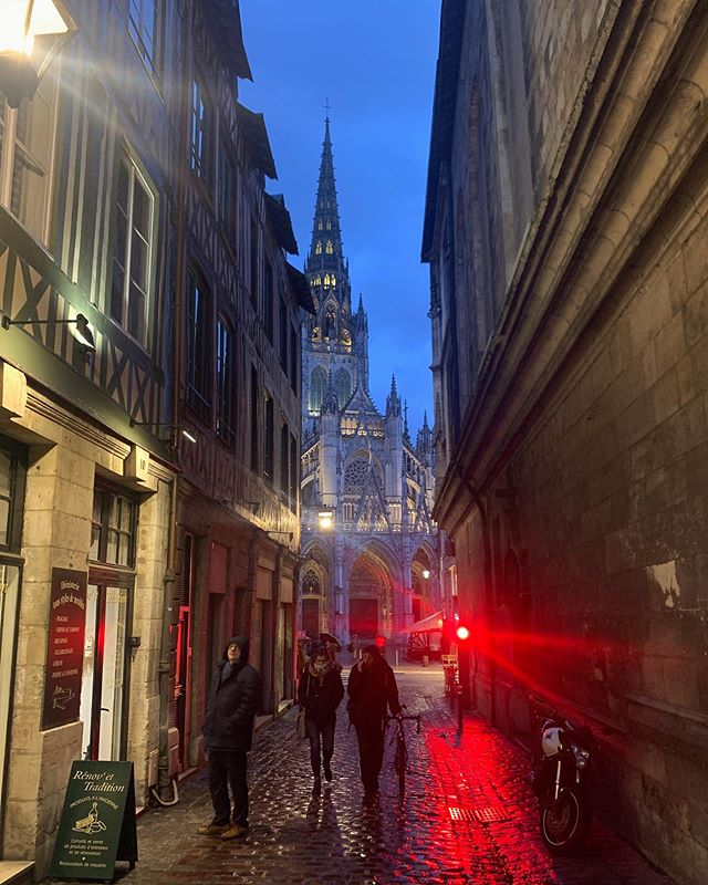 One night at Rouen