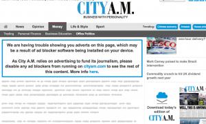 City AM screenshot